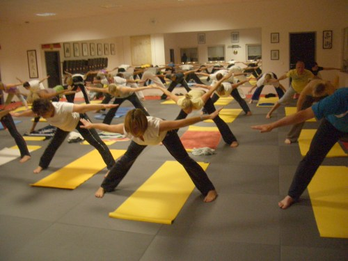 Unsere YOGA-Truppe
